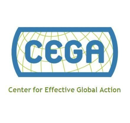 CEGA, a Vera Solutions client whom we've helped manage their data and programs.