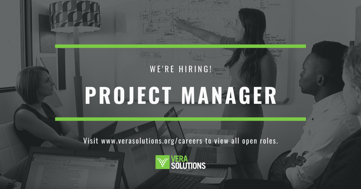 Project Manager London | Vera Solutions