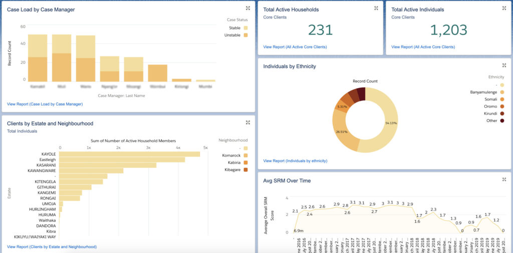 Salesforce Reports and Dashboards