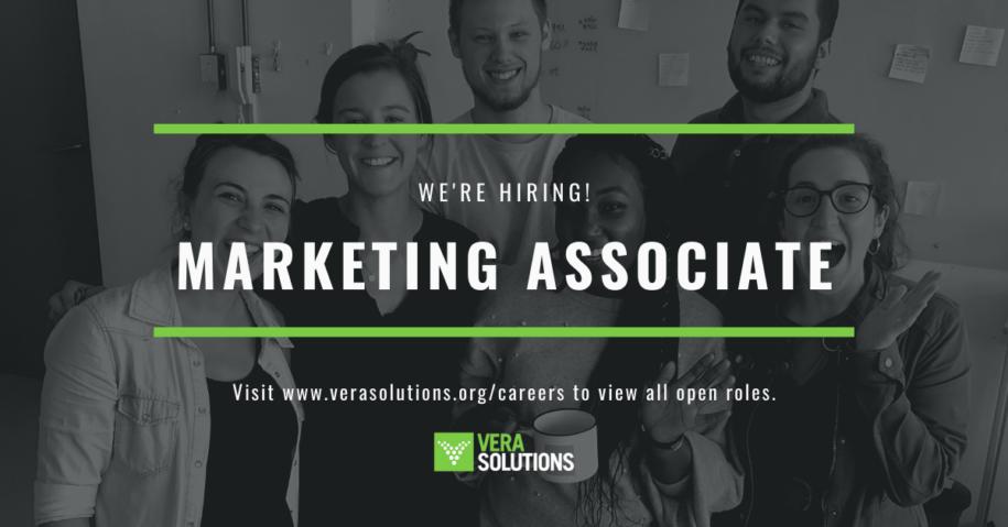 Marketing Associate | Vera Solutions