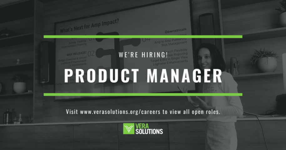 Product Manager   Vera Solutions