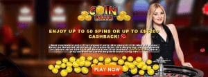 Coinfalls Casino Offers a Very Generous Welcome Bonus