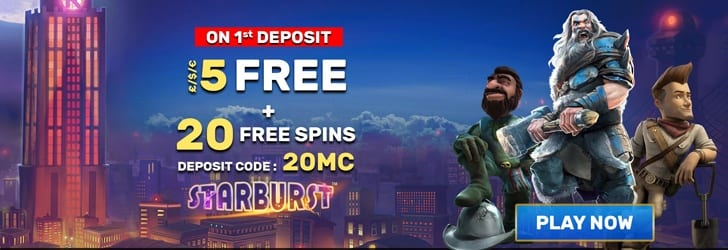 Get FREE Spins today At Mail Casino