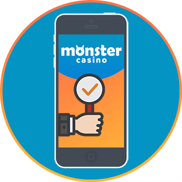 Monster Casino Player Support - 24/7