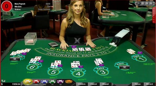 Live Rooms with Real Blackjack Dealers