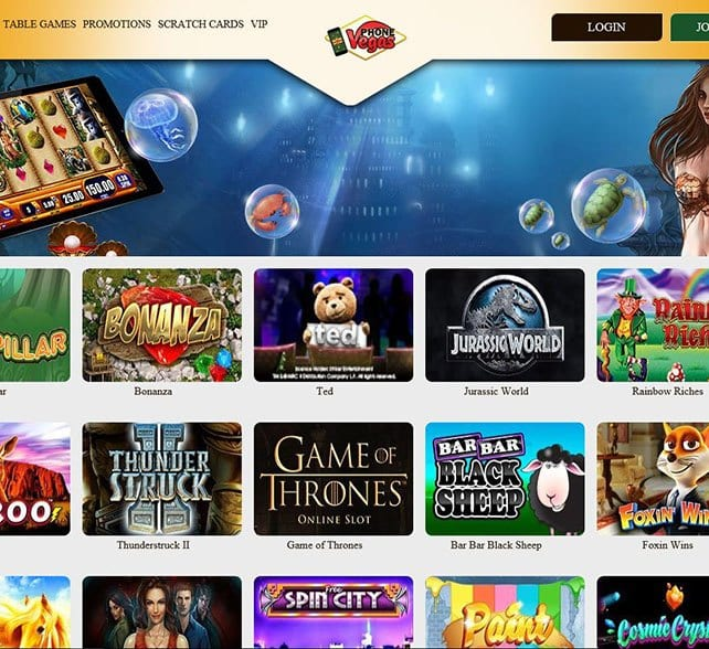 Phone Vegas Casino is Easy To Access Mobile Devices