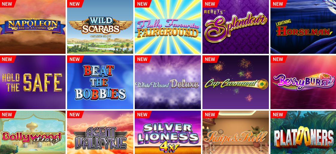Massive Choice of Slots & Games at Spinzwin
