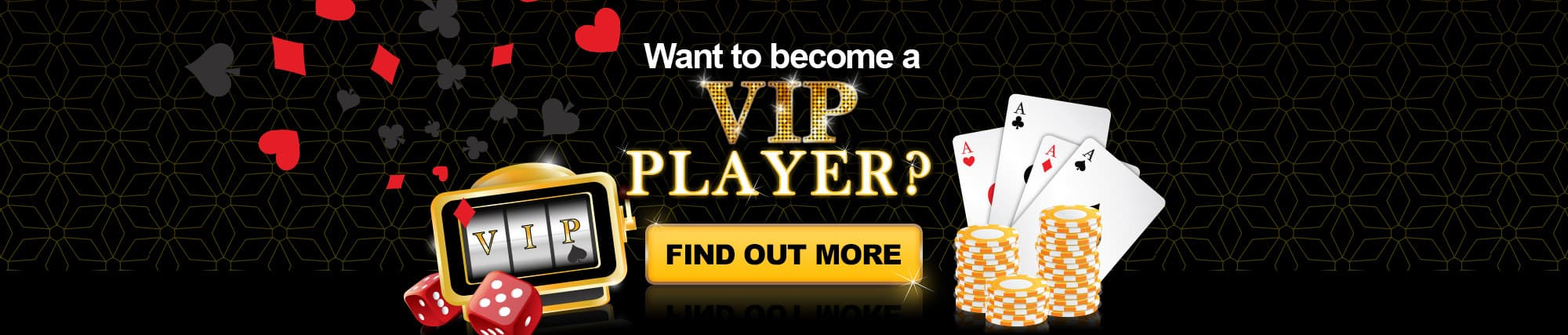 Become a VIP Player - Only at Vegas Baby
