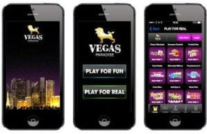 Play For Fun or Play For Real at Vegas Paradise