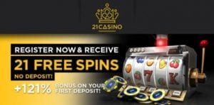 21 Casino Login Today to Claim Your Bonus Spins