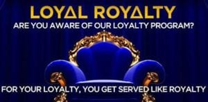 Get Treated Like Royalty at 21 Casino