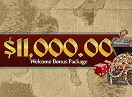 Claim up to $11,000 Combined No Deposit Wecome Bonus