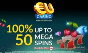 Exciting Bonus - 100% Up To 50 Spins