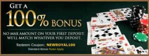 Royal Ace Casino With No Ceiling - Match All You Deposit!