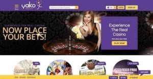 Place Your Bets! Live Dealers 24/7 at yako Casino