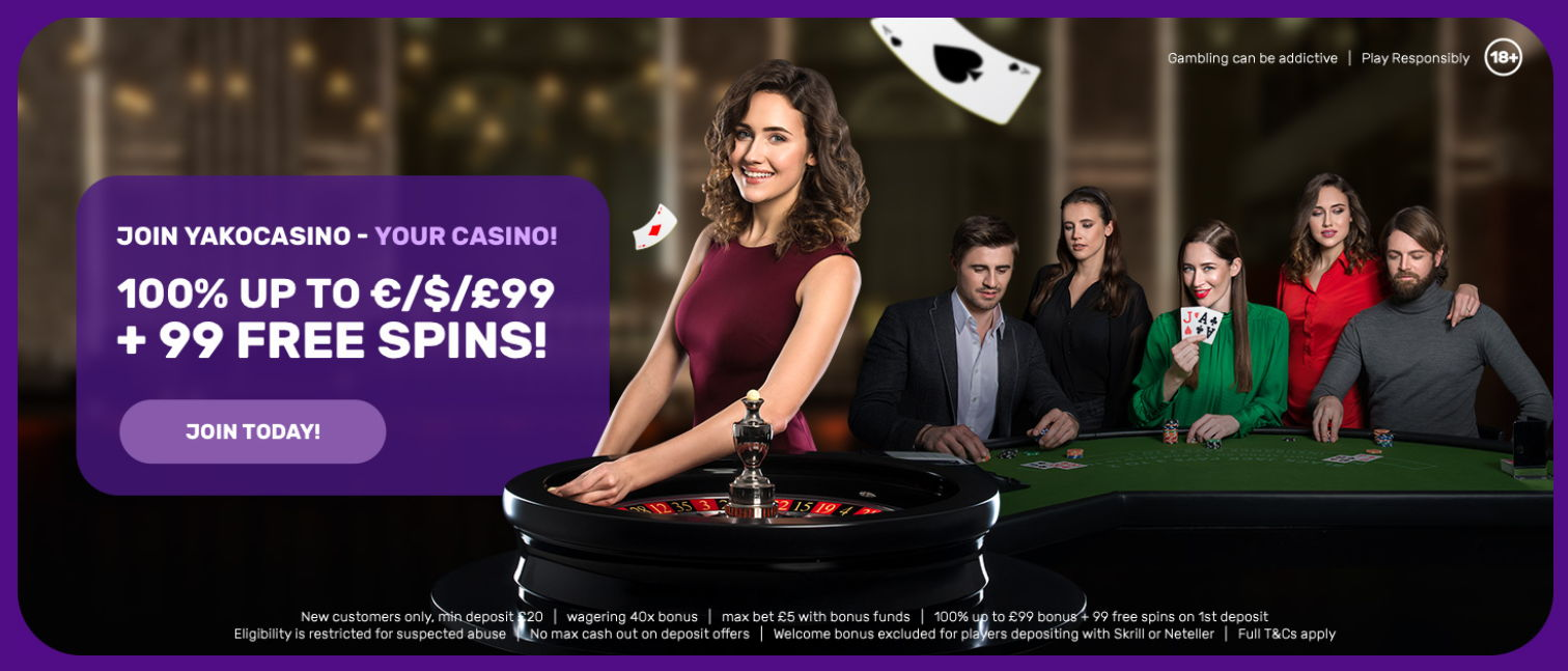 Play Live Casino With A Great Welcome Bonus
