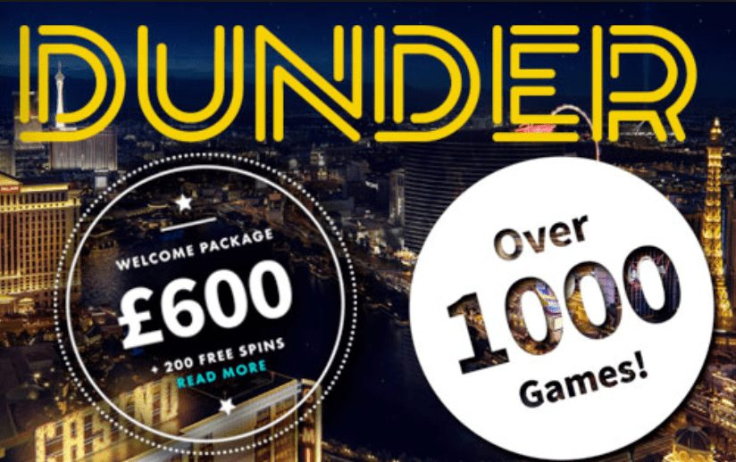 Welcome Package £600 & 200 Bonus Spins