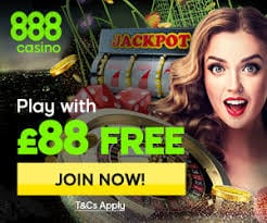 888 Casino £88 Welcome Bonus