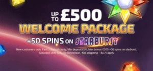 Up to £500 Welcome Bonus and 50 Extra Spins at Monster Casino