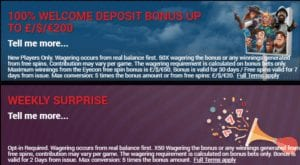 Variety of Great Bonuses on Offer at Slots LTD Casino