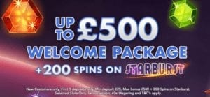 Claim Up to £500 Welcome Package at Coin Falls Casino