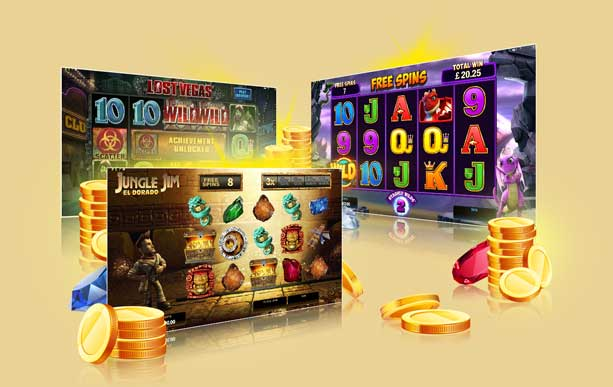 Loads of Different Slot Games Ready for You to Play