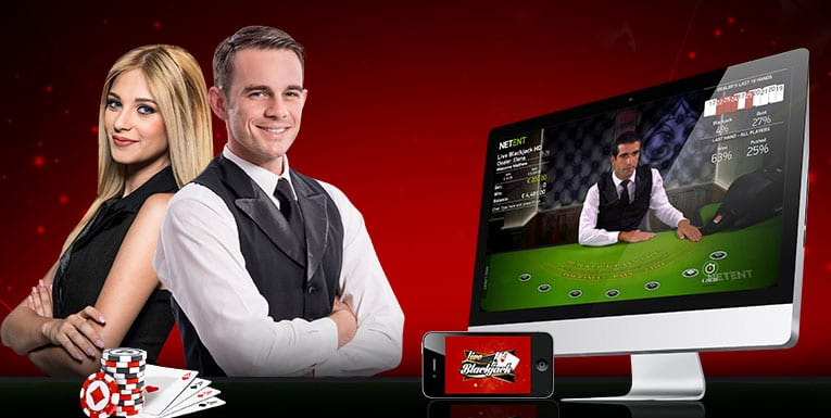 Play LIVE Blackjack 24/7 at Jackpot Online Casino