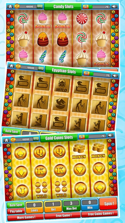 Candy Slots is a Very Popular Game at Lucky Gold Casino