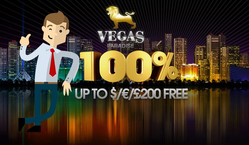 100% up to £200 Free