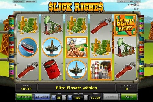 My Touch Casino with Slick Riches Slot Game