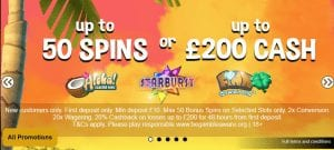 The New Northern Lights Casino Welcome Bonus