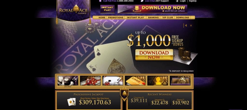 Royal Ace Has a Very Generous Welcome Bonus on Offer