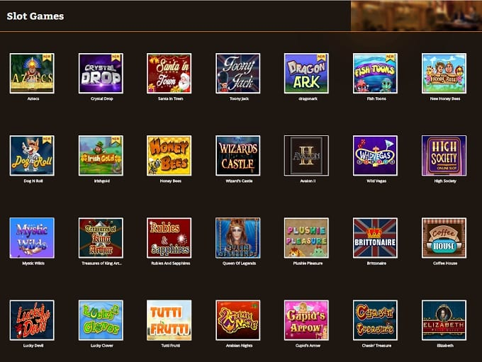 100s of Slot Games Available to Play Online
