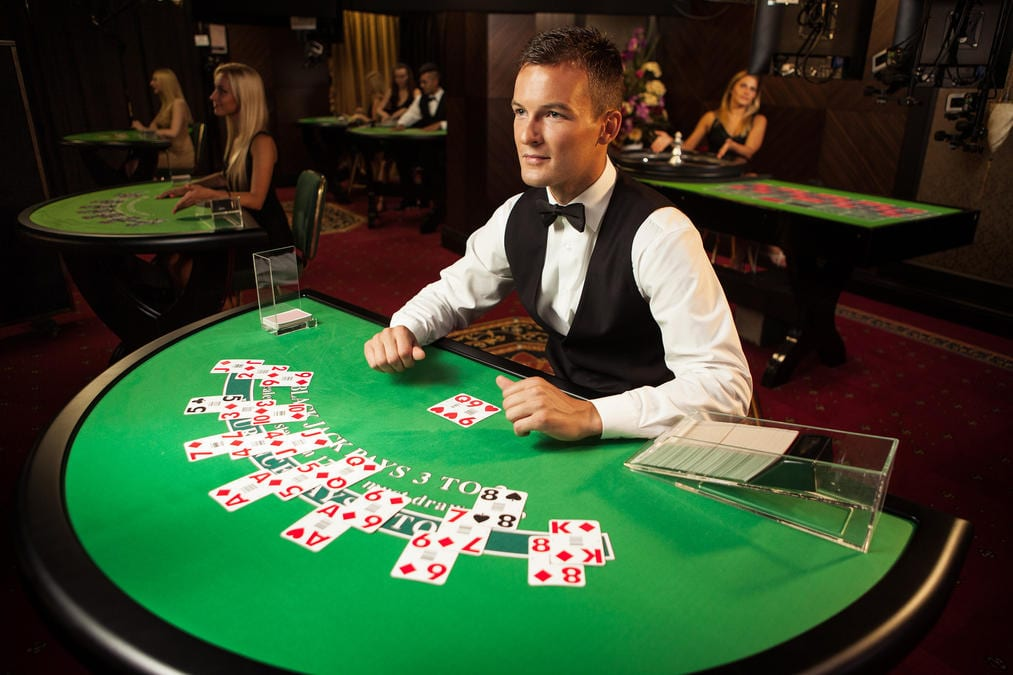 Play Live Blackjack Online At Vegas Paradise