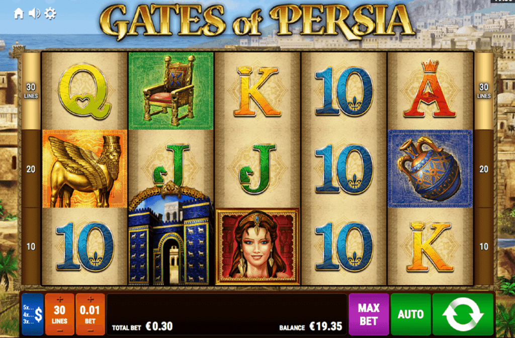 Gates Of Persia Online Slot Game