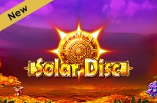 Play New Slot Game Solar Disc at Grosvenor Casino