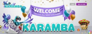 100% Up to £200 + 100 Bonus Spins at Karamba Casino