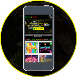 Play Spinzwin on Mobile and Navigate Through a Slick Well Designed Online Casino