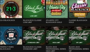 Wide Selection of Table Games at Video Slots Casino