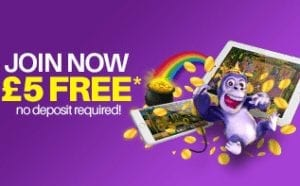 Join Today and Receive £5 Free Mobile Slots Win Real Money