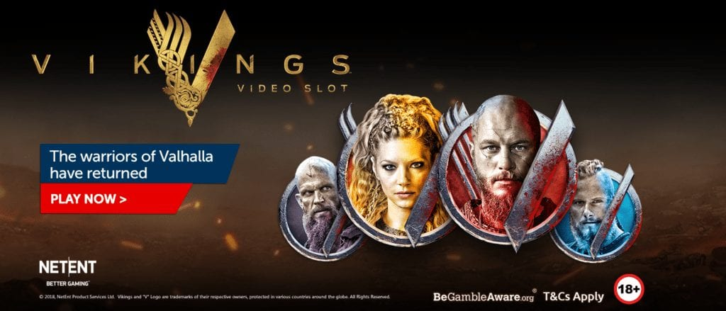 Casino RedKing with the Exclusive Vikings Video Slot