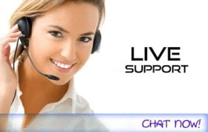 LIve Support and Super-Fast Support Response