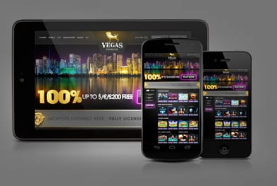 Vegas Paradise Online and Mobile UK Casino