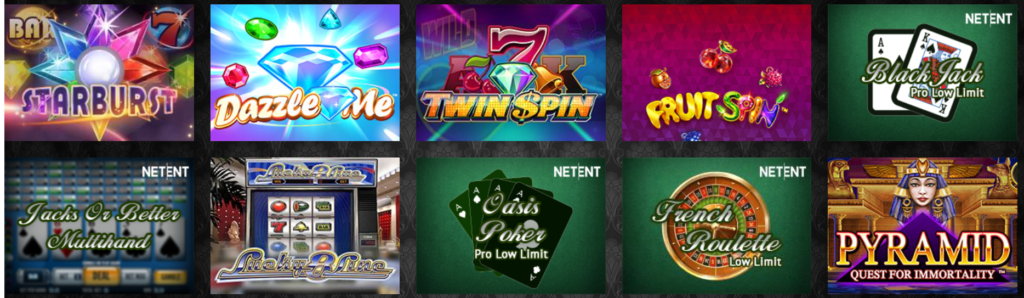 Play Starburst and Other big Named Titles at the Touch of Your Fingertips