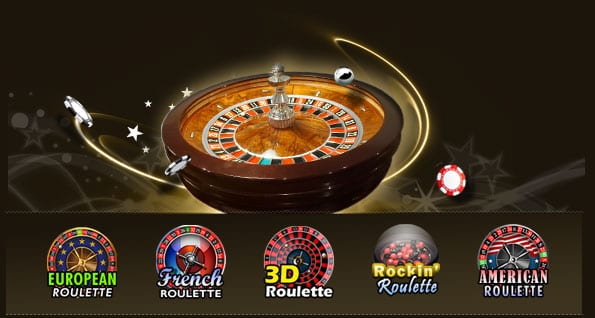 Many Variations of Roulette and Other Great Games to Play