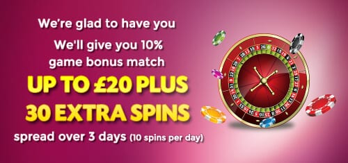 Get Bonus Deals And Bonus Spins Now!