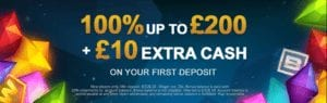 Get up to £200 Right Now at Video Slots Casino