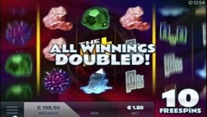 Get Double Winnigs on The Lab Slot at 21 Casino
