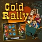 Play Gold Rally Slot by Playtech with £200 Welcome Bonus Now