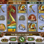 Hall of Gods Slot Image